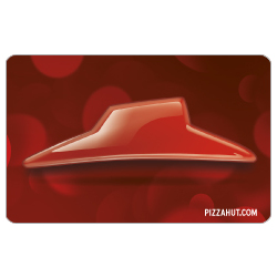 Pizza Hut Red Roof Gift Card