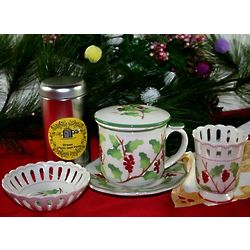Holiday Berries Tea Gift Set