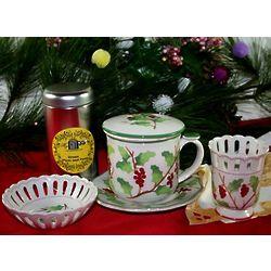 Holiday Berries Tea Gift Set