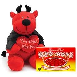 Light My Fire Red Hot Devil Plush Valentine