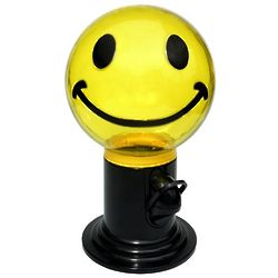 Smile Face 9 Inch Gumball Machine