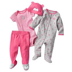 Carter's Floral Sleep and Play Set