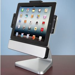 Rotating iPad Speaker Dock