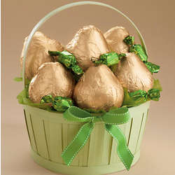 St. Patrick's Day Pears Gift Basket