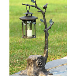 Garden Lantern with Bluetooth Speaker