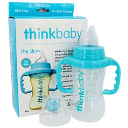 Stage C Sippy Cup in Light Blue