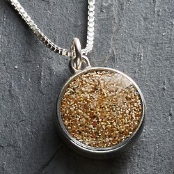 Personalized Say It with Sand Pendant