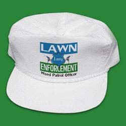 Lawn Enforcement Personalized Hat