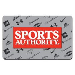 Sport's Authority Gift Card