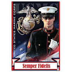 United States Marine Corps Semper Fidelis Flag