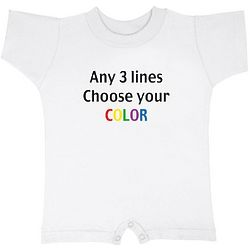 Personalized Fun T-Rompers