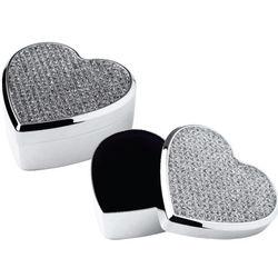 Heart Stones Jewelry Box
