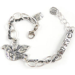 Live True Dove Bracelet