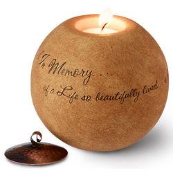 Memorial Tea Light Holder