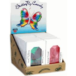 Edible Flower and Insect Butterfly Candies Case