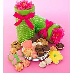 Mother's Day Floral Gift Box with Sweets