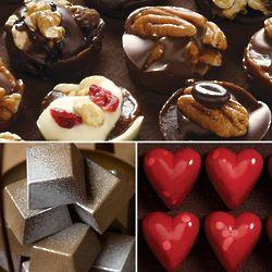 Valentine Splendor Chocolates Gift Tower