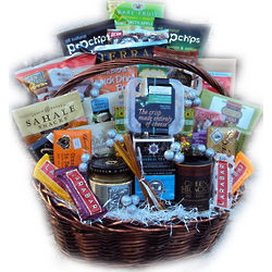 Healthy New Year Family Gift Basket