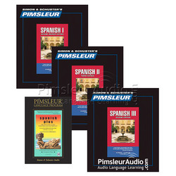 Spanish I, II, III, & Plus CDs Combo Pack