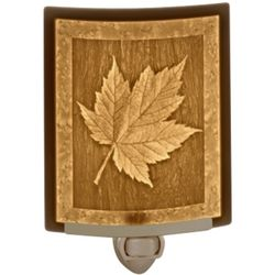 Maple Leaf Lithophane Night Light