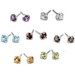 A Week of Gemstones Stud Earrings