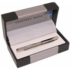 Geoffrey Beene Silver Collar Bar