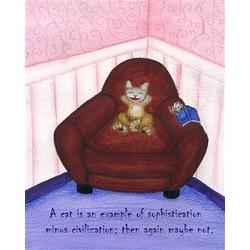 A Cat's Empire Fine Art Print