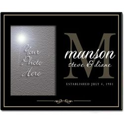 Personalized Family Name Monogram Frame