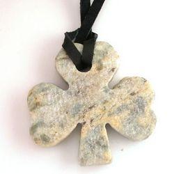 Marble Shamrock Pendant