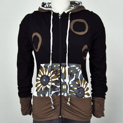 3 Ring Daisy Pocket Hoodie