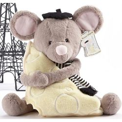 Monsieur leSqueak and Blankie Fantastique Plush Mouse