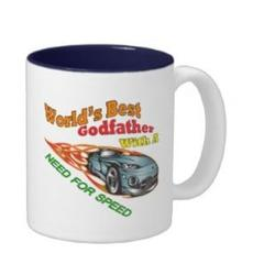 World's Best Godfather Need for Speed Coffee Mug