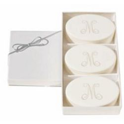 Personalized Aqua Mineral Spa Soaps