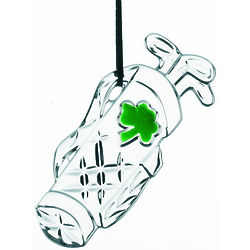 Crystal Golf Bag Ornament