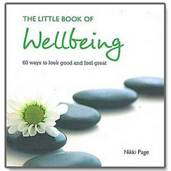 The Little Book of Wellbeing Hardcover Book