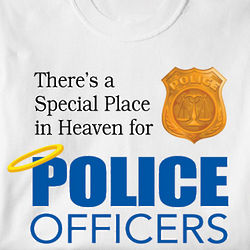 Special Place in Heaven for Police Officers T-Shirt