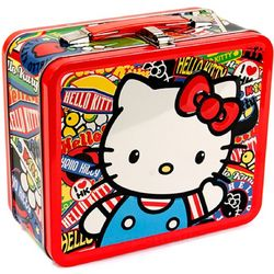 Hello Kitty Sticker Lunch Box
