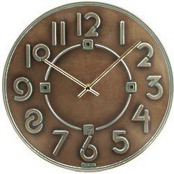 Frank Lloyd Wright Exhibition Typeface Wall Clock