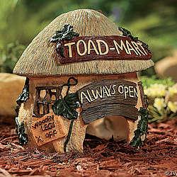 Toad-Mart Garden Statue
