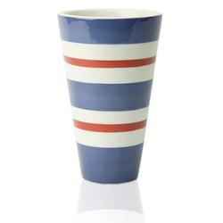Striped Tumbler Vase