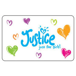 Limited Too/Justice Gift Card