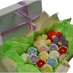 Chocolate Covered Oreo Cookie Flowers Gift Box
