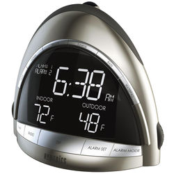 SoundSpa Premier AM/FM Clock Radio with Temperature
