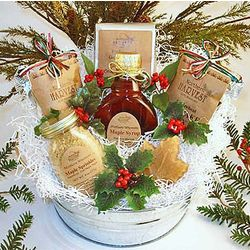 Christmas Breakfast Treats Gift Basket