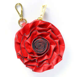 Red Flower Coin Purse