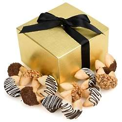 Hand Dipped Gourmet Fortune Cookies Gift Box