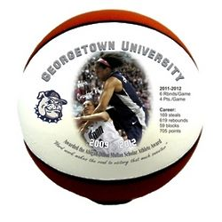 Personalized Basketball with Custom Photo