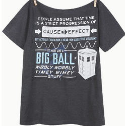 Cause to Effect Timey Wimey Doctor Who T-Shirt
