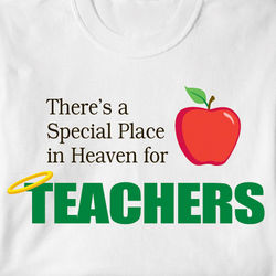 Special Place in Heaven for Teachers Shirt