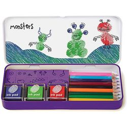 Monsters Finger Printing Art Kit